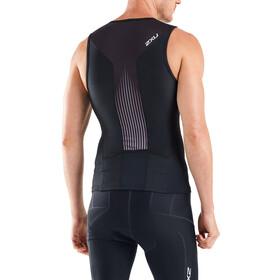 2XU Perform Koszulka triathlonowa Mężczyźni, black/shadow